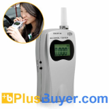 Deluxe Breathalyzer - Alcohol Tester with LCD Screen