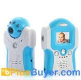 Portable Wireless Baby Monitor Set (MIC, Night Vision, AV OUT)