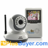 Wireless Baby Monitor with AV OUT, Two Way Audio & Night Vision