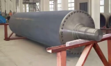 Blind drilled press Roll