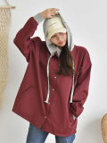 Hooded Jacket_ Cotton_Casual_ Comfortable