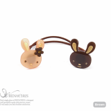 Bunnies ponytail holder