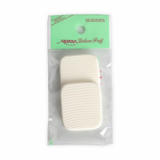 NBR Wave Square White Sponge_2pcs