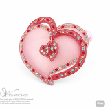 Heart Bell ponytail holder