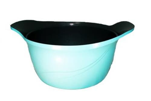 METALLIC COLOR CERAMIC COATED COOKWARE