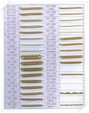 Brass Chain for imitation jewelr y-KT171-