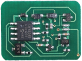 Replacement toner chip for oki C9600