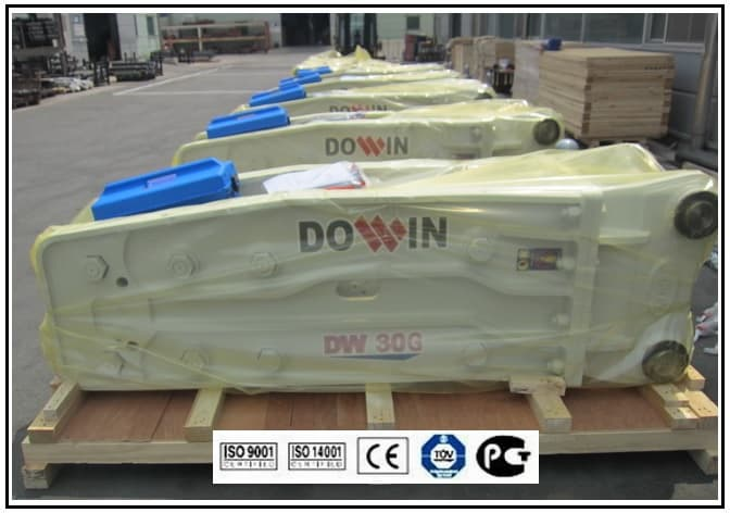 Hydraulic Breaker DW30G _ OPEN TYPE