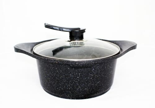 Nanosilver Marble Coated Pot Frypan Wok From Kheo Sung