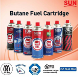 Sun-Fuel portable Butan Fuel cartridge
