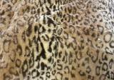 Fake Fur. TKVS-FD15 LEOPARD