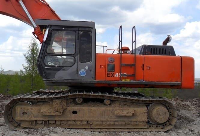 used hitachi excavator ex400-1 | tradekorea