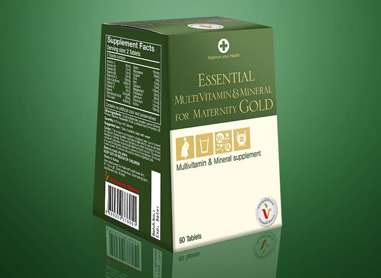 Essential Multivitamin _ Mineral For Maternity Gold
