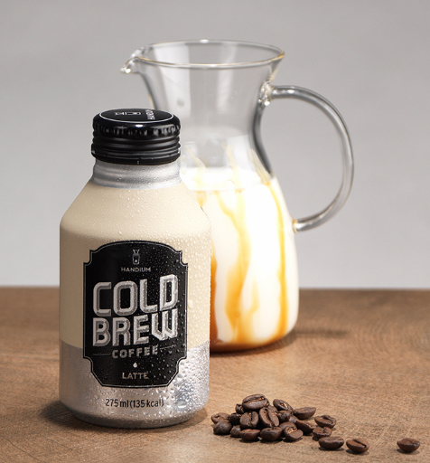 Handium Cold Brew Coffee LATTE