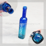 Colored Glass Beverage Bottle