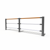 Aluminum Fence _Angle Adjustable_
