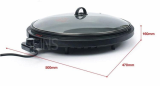 Round Party Electric Grill