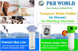 Compact Water Purifier for Shower and for Washing Machine