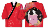 _Gudaform_ Designed Sushi Uniform_Geisha_Pattern_