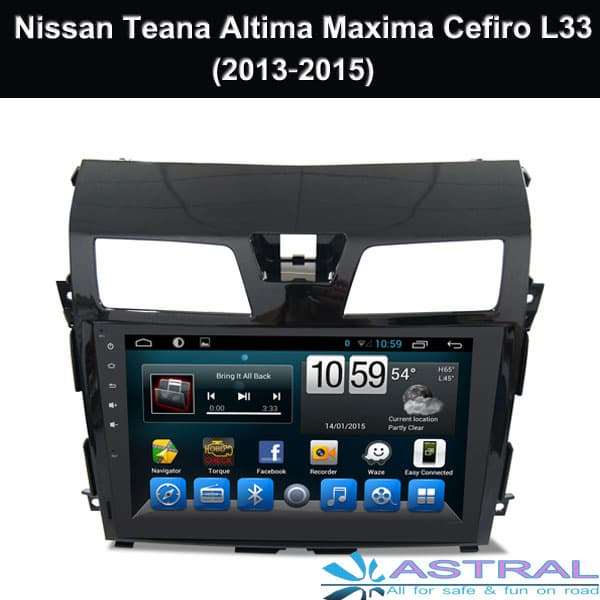 GPS Navigation Tesla Screen Nissan X_trail Qashqai Dualis