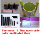 Thermosol Ink & Thermochromic Color