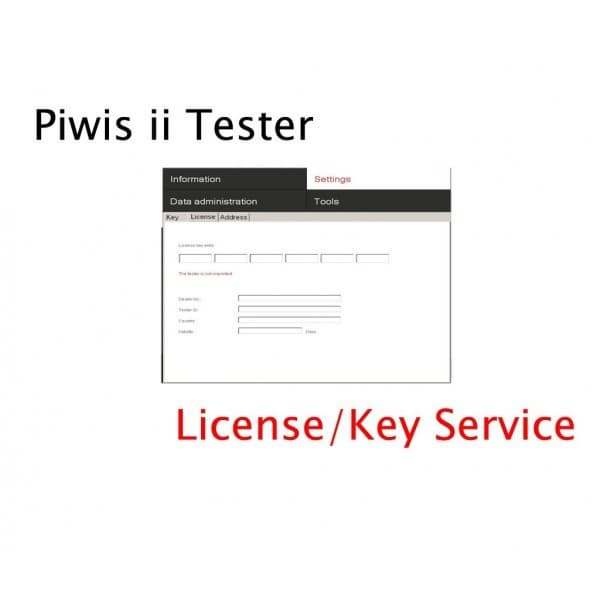 PORSCHE PIWIS II LICENSE SERVICE UNLIMITED