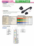 TP6147 SERIES ILLUMINATED TACT SWITCHES _WIRE BONDING TYPE_