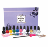 KONAD Stamping Nail Art Kit_A set