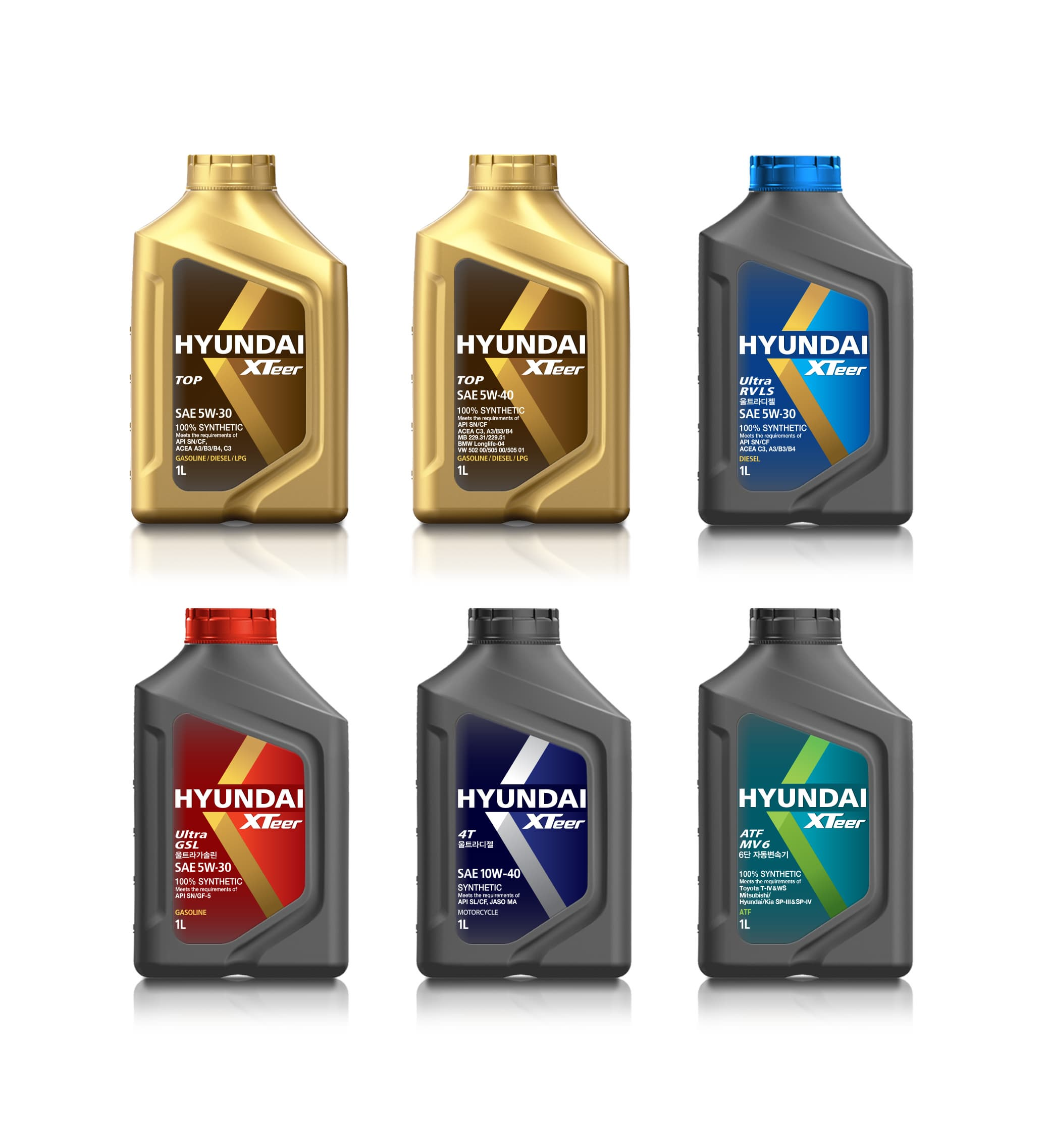 Hyundai Xteer Lubricants Engine Oil From Hyundai Oilbank