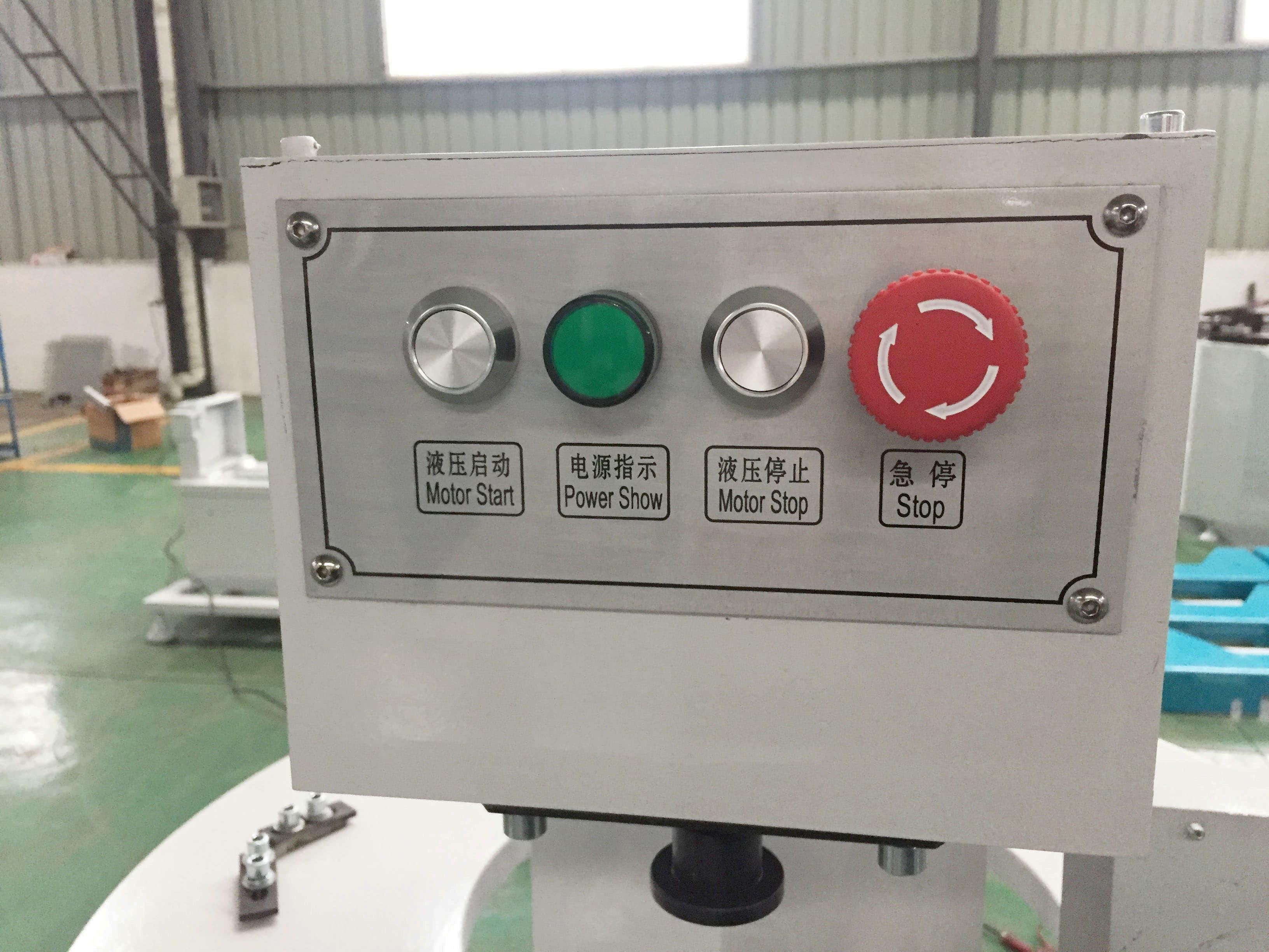 aluminium profile window door punching machine | tradekorea
