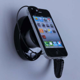 security anti theft wholesale iphone display mount stand holder wall for cell phone,mobile phone,MP3