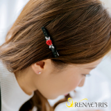 Renachris Rose Star hair clamp