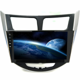 Hyundai Auto DVD Player for Verna Solaris Accent GPS Nav