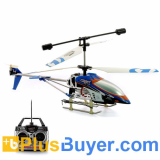 Air Strike - 3 Channels RC Helicopter with LEDs Lights and Gyro
