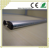 Battery Operated LED Rail with Moving Sensor