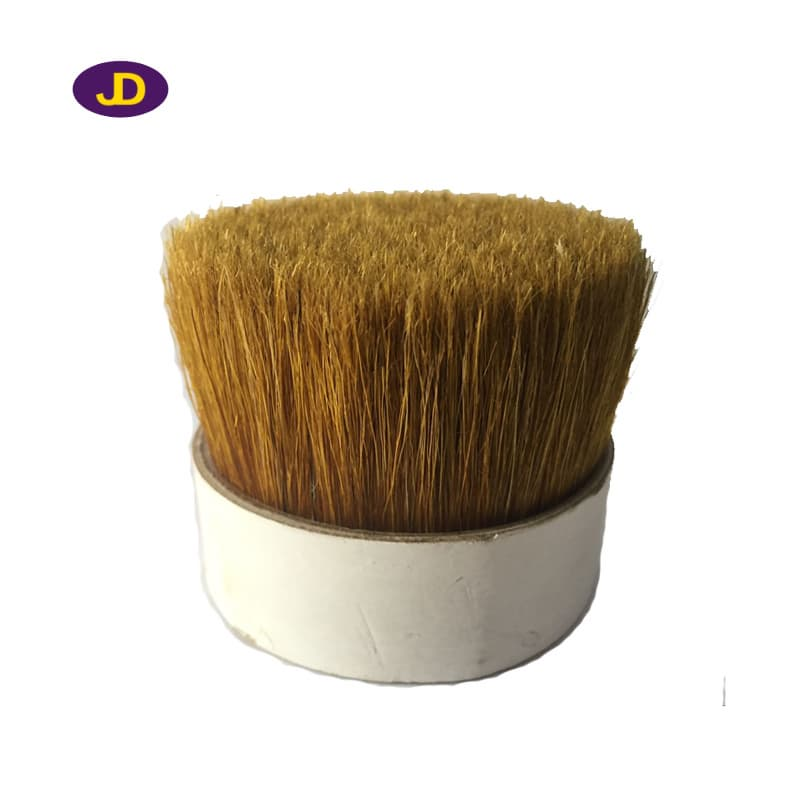 golden pig bristle for paint brush