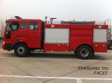fire truck, fire training simulator