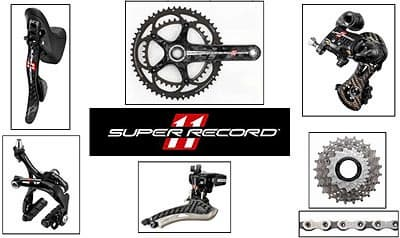 Campagnolo Super Record Groupset 2014 11 spee from PT.RABI ...