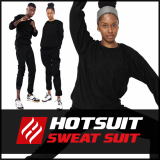 -Hotsuit G2 Raound Black- Sauna Suits