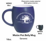 Matte Belly Mug with Gloss Interior_ Promotional Gifts