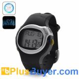 Sports Exercise Stopwatch + Calorie Counter + Alarm + Pulse Mode
