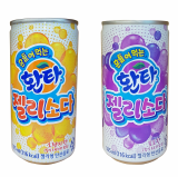 Fanta Jelly Soda_ soft drink_ Korean beverage_ fruit flavor