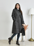 Jacket_ Outer_ Coat_ Check_Pattern