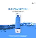 Portable Hydrogen Water tumbler BlueWater700M_PEM technology