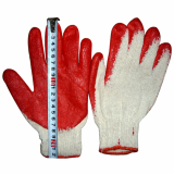 latex coated cotton gloves