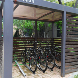 Horizontal Bicycle Rack