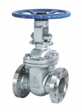 Cast steel solid_flexibile wedge gate valve