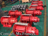3 ton hydraulic winch for petroleum rig hoist
