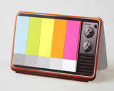 TV color [Sticky memo pad + Photo frame]
