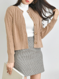 Cardigan_ Outer_ Wool_  Acrylic_ Winter wear